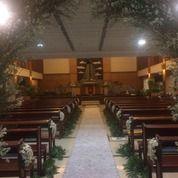 Dekorasi Gereja Untuk Pernikahan Abimanyu Florist (27474135) di Kota Jakarta Timur