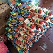 Kereta Geometri Mainan Kayu Edukasi Anak Grosir 100 Pcs (27482479) di Kab. Bengkayang