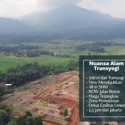 Tanah Kavling Bogor Murah Lokasi Strategis Sejuk & Asri View Pegunungan (27538695) di Kab. Bogor