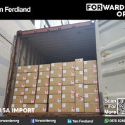 Jasa Import Resmi Ningbo Guangzhou Yiwu Shenzen | FORWARDER ORG (27549567) di Kota Jakarta Barat
