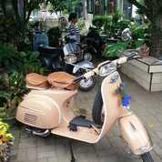 Vespa Super Tahun 1974 Warna Coklat Muda (27550139) di Kota Denpasar