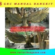 Patung Burung Hantu Sayap Terbuka (27557227) di Kota Magelang