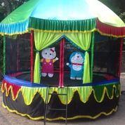 Trampolin Odong 2 Wahana Mainan Anak Siap Kirim (27558323) di Kota Dumai
