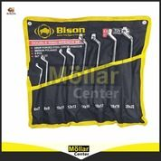 Kunci Ring Set - Double Offset Ring Spanner 8 Pcs BISON (27570367) di Kota Magelang