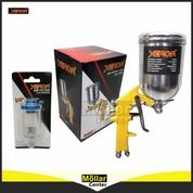 PAKET HEMAT Spray Gun XENON F75G Tabung Atas 400cc Dan Air Filter Kompresor XENON (27570471) di Kota Magelang