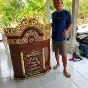 Mimbar Podium Pidato Masjid Kayu Jati Berkualitas Real 019198 (27597303) di Kota Jakarta Barat