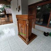 Mimbar Podium Masjid Khutbah Maroko Kayu Jati Berkualitas 92827 (27597427) di Kota Jakarta Selatan