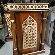 Mimbar Podium Masjid Khutbah Minimalis Maroko 5087 (27598203) di Kota Jakarta Pusat