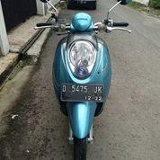 Motor Scoopy Biru Sangat Terawat (27614075) di Kota Bandung