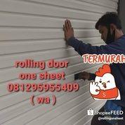 Rolling Door One Sheet Termurah Jakarta Senayan Kuningan Kemang Slipi Bintaro Cinere Pondok Indah (27618735) di Kota Jakarta Selatan