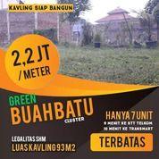 Kavling Siap Bangun Green Buah Batu Luas 93 Legalitas SHM (27640007) di Kota Bandung