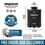 Tangki Air Mpoin Tanam U-Ground 1200 L-SNI Anti Bakteri Anti Lumut Anti Pecah Garansi Resmi 3 Thn (27674487) di Kota Surabaya