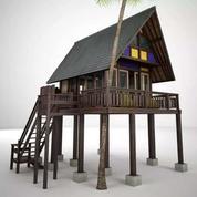 Rumah Kayu Bongkar Pasang 11 (27686959) di Kota Bandung