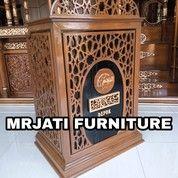 MIMBAR JATI MIMBAR MUSHOLLA & MASJID INDUSTRIAL KAYU (27705287) di Kota Bekasi