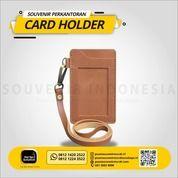 LAYANAN CETAK KANTOR ID CARD HOLDER KULIT (27719207) di Kota Jakarta Timur