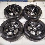 Tersedia Velg Seken Model Te37 Ring 16x8 Pcd 4x100 Seken Murah Plus Ban (27736079) di Kab. Bekasi