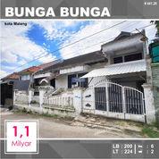 Rumah + Tanah Luas 224 Di Bunga Bunga Sukarno Hatta Kota Malang _ 441.20 (27736251) di Kota Malang