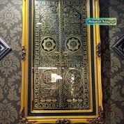 Kaligrafi Pintu Kakbah Blok Hitam Kuningan Asli Size.143x85cm. Antik Mewah (27738175) di Kab. Jepara