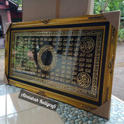 Kaligrafi Asmaul Husna Al Ihlas Ornamic Kuningan Asli Size.143x85cm. Eksclusif (27748399) di Kab. Jepara