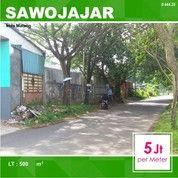 Tanah Poros Jalan Luas 500 Di Sentani Sawojajar 1 Kota Malang _ 444.20 (27748767) di Kota Malang