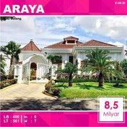 Rumah Mewah Eropa Luas 561 Di PBI Araya Kota Malang _ 448.20 (27756103) di Kota Malang