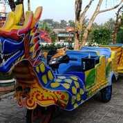 Wahana Kereta Motor Naga Full Airbrush Baguuss (27758231) di Kab. Bangkalan