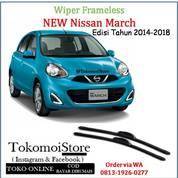 Wiper Frameless Nissan March Edisi 2014 2015 2016 2017 2018 (27763475) di Kab. Klaten