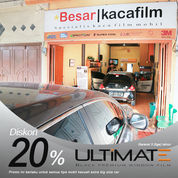 Kaca Film ULTIMATE Black Series [Bahan Utk 1 Unit Mobil] (27765211) di Kota Medan