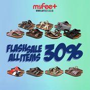 MyFeet Indonesia Flash Sale All Items 30% (27803415) di Kota Jakarta Selatan