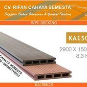 KA150K25 - Decking WPC / Lantai WPC / Lantai Kolam Renang / Pagar WPC (27804275) di Kab. Sidoarjo
