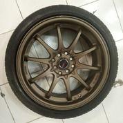 Ready Velg Racing Model CE28 Ring 17X7,5 Pcd 4X100/4X114,3 + Ban (27808499) di Kota Jakarta Barat