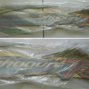 STRIPING FULL SET SUZUKI SHOGUN R ORIGINAL Warna Biru Kualitas ORI Setara 3M (27817123) di Kota Semarang