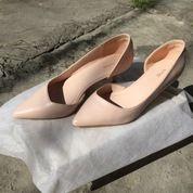 Preloved Heels VNC Ori Pink, In Good Condition,Size 38-39,Tinggi Heels 3cm (27837643) di Kota Denpasar