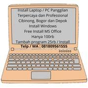 Jasa Install Laptop / PC Panggilan (27838071) di Kab. Bogor