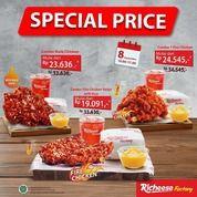 RICHEESE FACTORY PROMO SPECIAL PRICE 3 COMBO!! (27851711) di Kota Jakarta Selatan