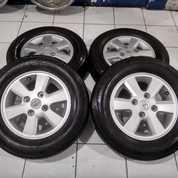 Velg Copotan Avanza Ring 14+Ban Pcd 4x114,3 Warna Silver (27855767) di Kota Bekasi