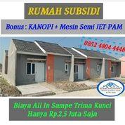 Rumah Subsidi 2,5 Juta Sampe Trimakunci, Di Kalangsari, Rengasdengklok (27864535) di Kab. Karawang