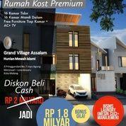Kost Premium Di Kota Malang, Dekat UNIBRAW & MATOS, FREE KELOLA KOST, BONUS BISNIS LOUNDRY (27869271) di Kota Malang