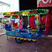 Terlaris Kereta Panggung Fiberplat Komplit Lampu Hias (27880831) di Kota Medan