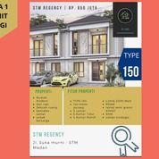 Sisa 1 Unit Lagi Rumah Mewah 2lt 5 Kamar Tidur Lebar 8 Di STM (27900955) di Kota Medan