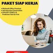 Paket Siap Kerja + Toefl (27905807) di Kota Jakarta Timur