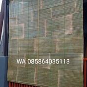 Krey, Tirai, Wide Bambu Hijau Dan Hitam Anyaman Tebal (27908847) di Kota Bandung