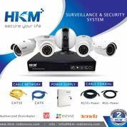 Paket Camera CCTV 4 Channel AHD 2 MP ZUCOM Infared Online Internet Komplit (Tinggal Pasang) (27917363) di Kota Jakarta Selatan