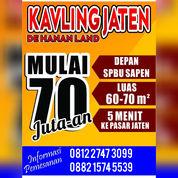 Kavling Murah Dekat SPBU Jaten Karanganyar (27919259) di Kab. Karanganyar