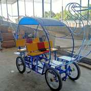 Pabrik Mainan Odong Odong 13 Becak Cinta (27920419) di Kota Bandar Lampung