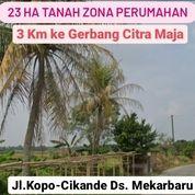 Tanah Serang 23 Ha Dekat Citra Maja Desa Mekar Baru Kab Serang Banten (27926371) di Kab. Serang