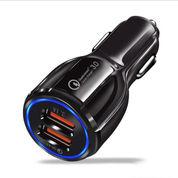 Taffware Cas Mobil Car Charger Dual USB Port 3.1A QC3.0 Qualcomm (27948319) di Kota Surakarta