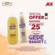 ACE Hardware Belanja Rp500.000 di ACE Get Chatime Voucher Rp25.000 (27950083) di Kota Jakarta Selatan
