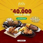 Fiesta Steak Diskon 40.000 Grabfood (27950115) di Kota Jakarta Selatan