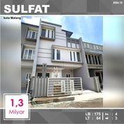 Rumah Baru 3 Lantai Luas 84 Di Sulfat Agung Kota Malang _ 584.19 (27950379) di Kota Malang